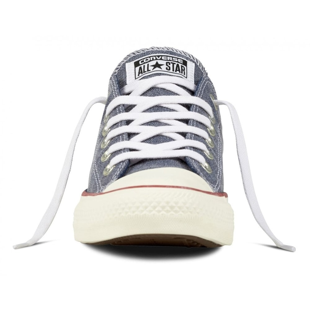 8110d229a46b Converse Unisex Chuck Taylor All Star Navy Blue Low Top Trainers ...