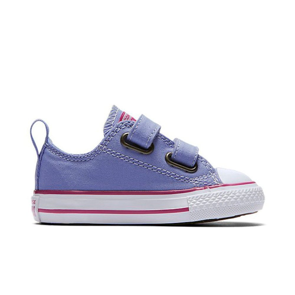 dde967db96d3 ... Converse Kids 2V OX Twilight Velcro Sneakers - Purple ...