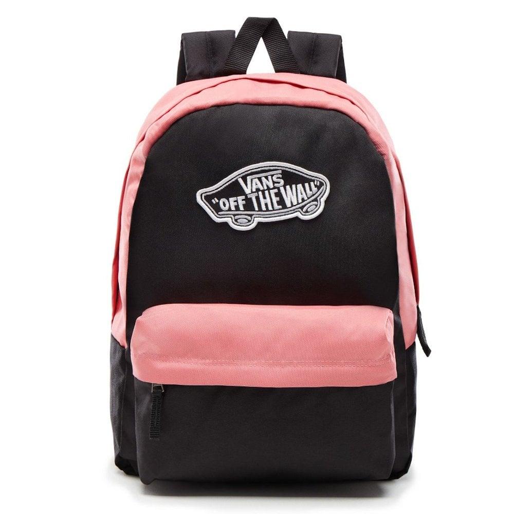 fc24b97ecc9e7 Vans Realm 22 Litre Backpack - Black Desert Rose - Millars Shoe Store