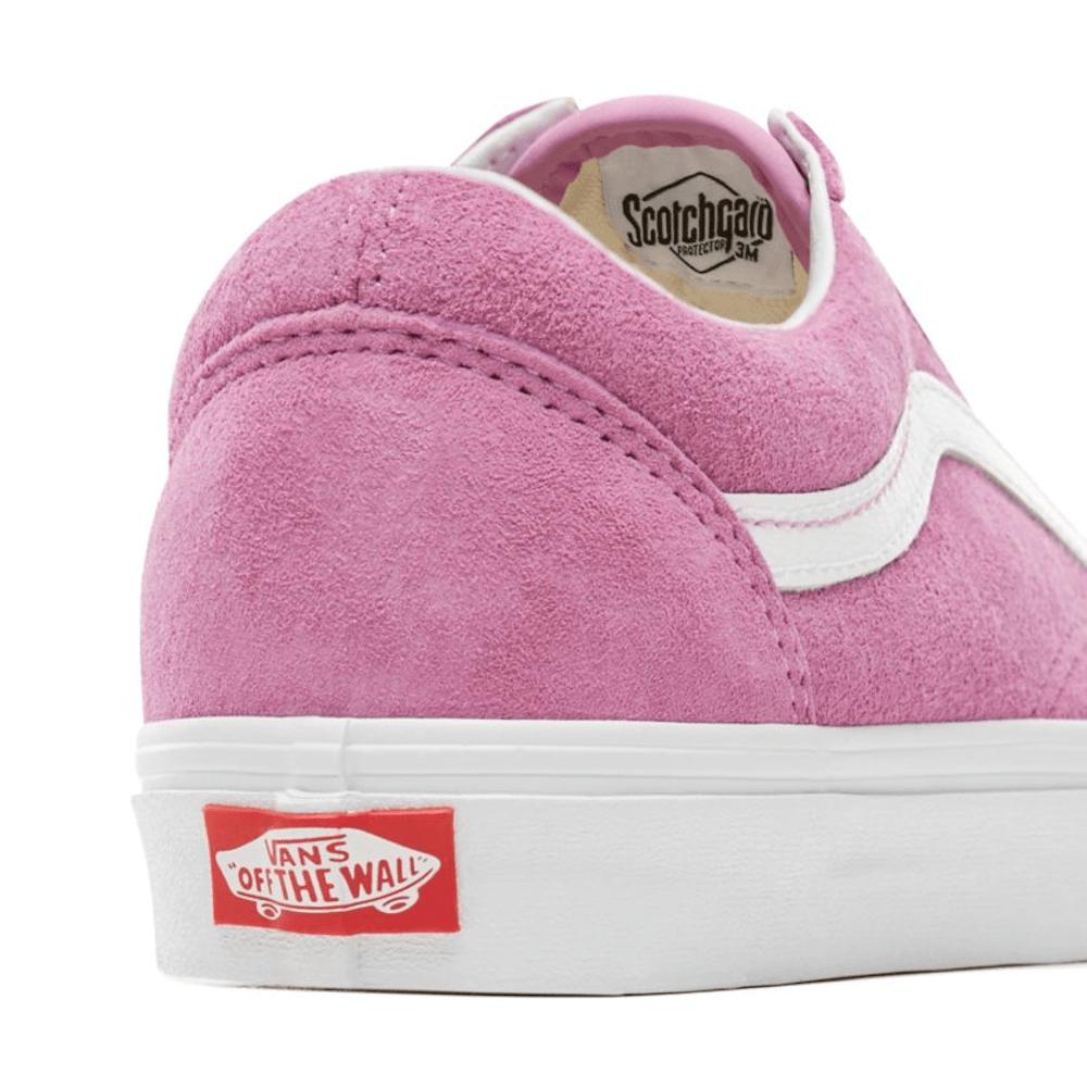 950599efe2 Vans Womens Old Skool Pig Suede Skate Shoes - Pink   Millars shoe store