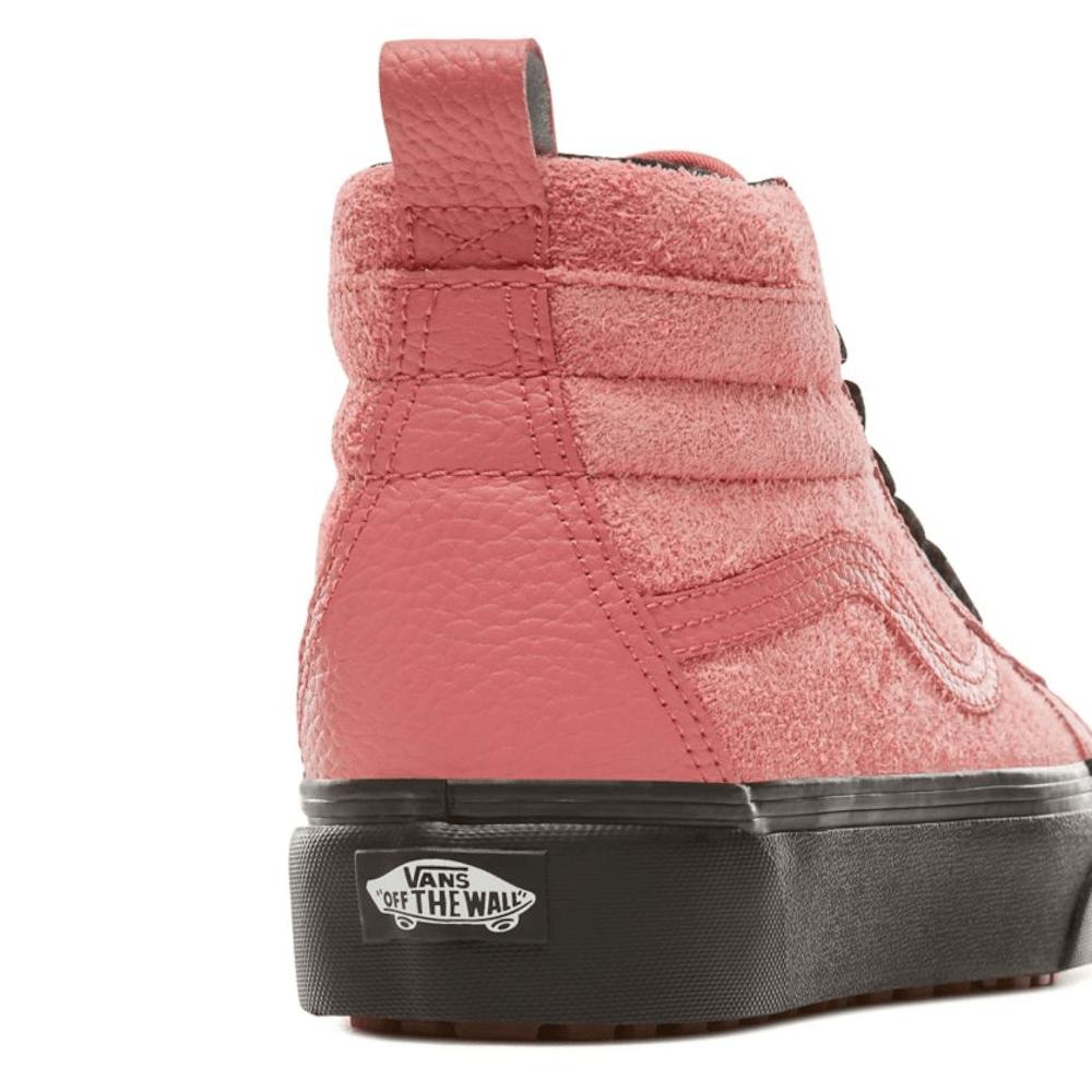 ee8778e4216e Vans Womens Suede Sk8-Hi Platform MTE Shoes - Desert Rose   Millars ...