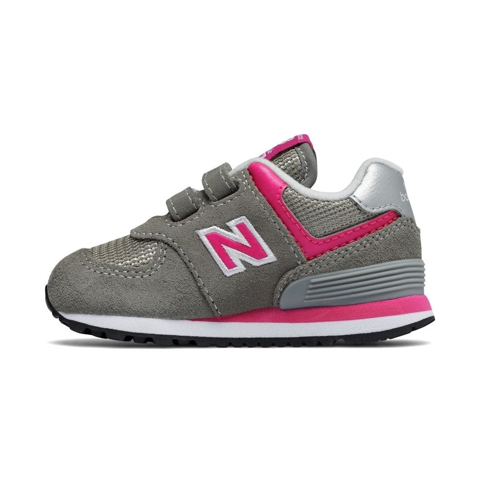 ffd0e9997856d New Balance Infant 574 Core Velcro Sneakers - Pink/Grey | New ...