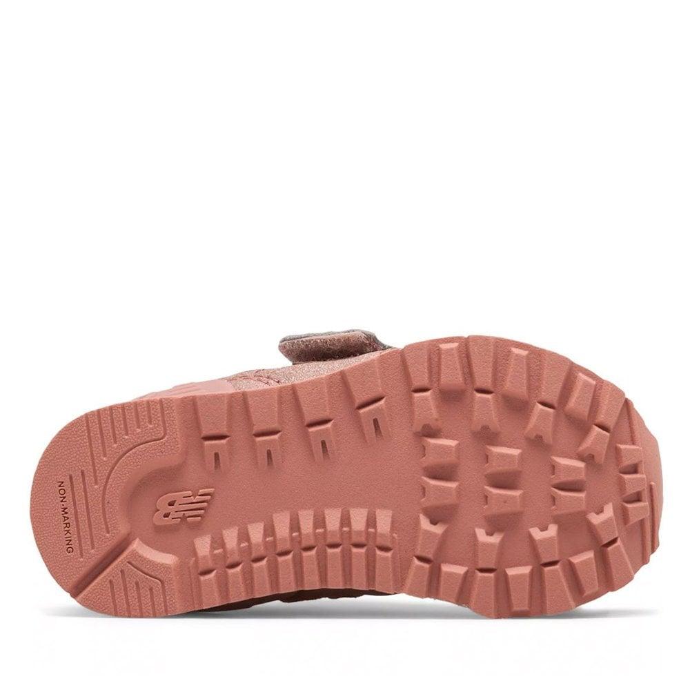 0ac3ffd09f2db ... New Balance Infant 574 Core Velcro Sneakers - DusK Pink Metallic