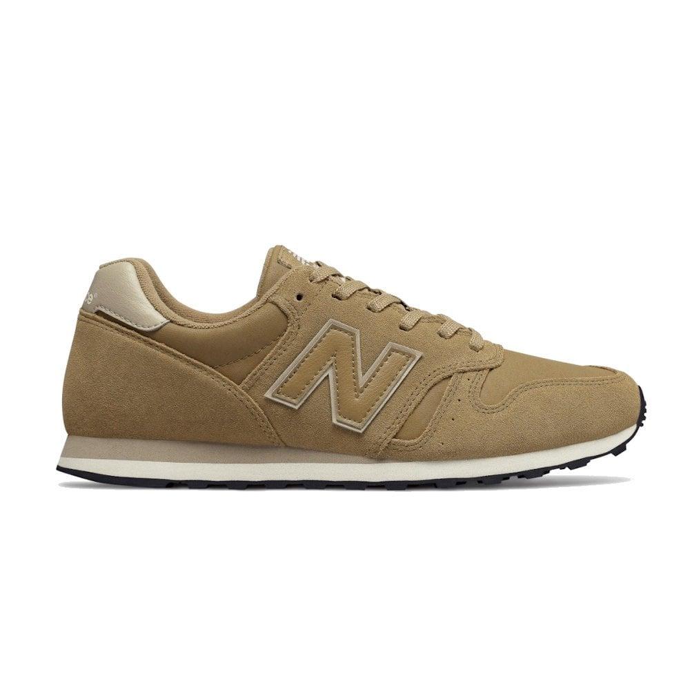 nouveau produit e3873 4f2b2 New Balance Mens 373 Lace Up Sport Lifestyle Shoes - Camel