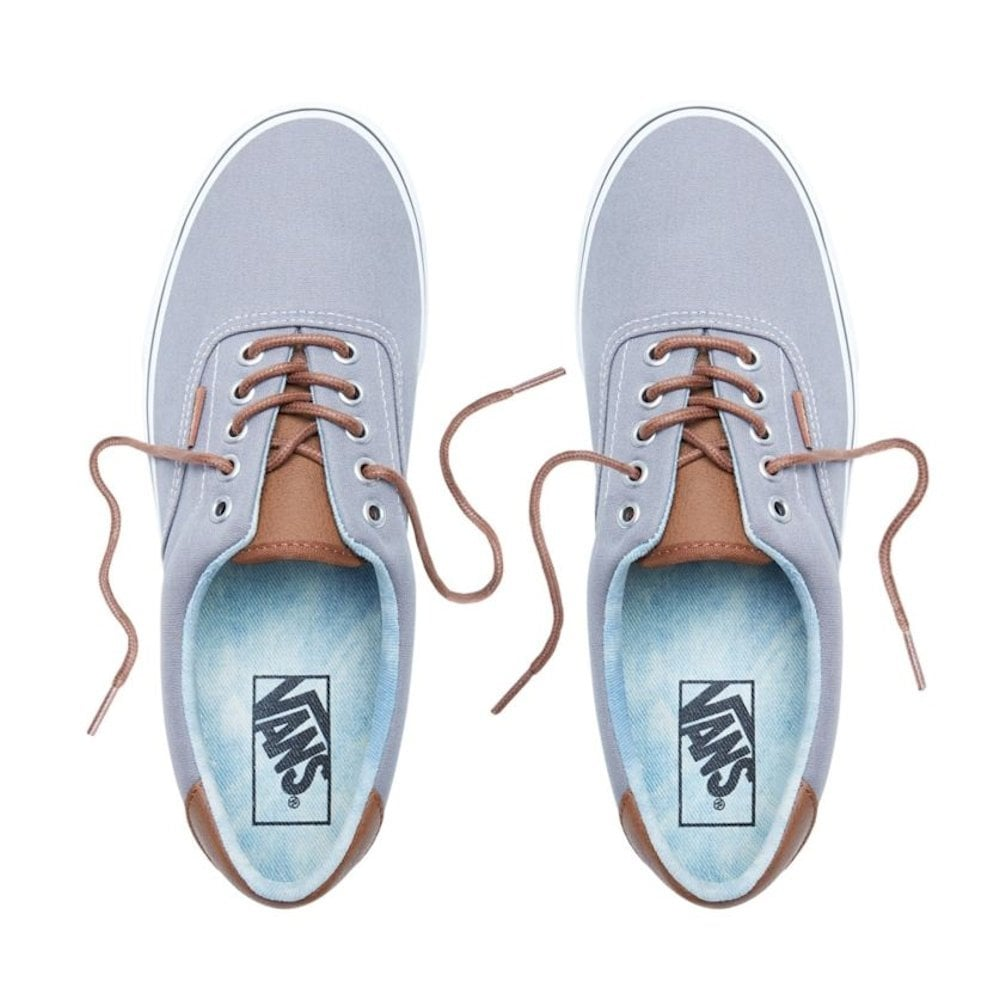 9ef9930bad52b3 Vans Mens ERA 59 Denim Trainers Shoes - Grey Brown   Millars Shoe Store