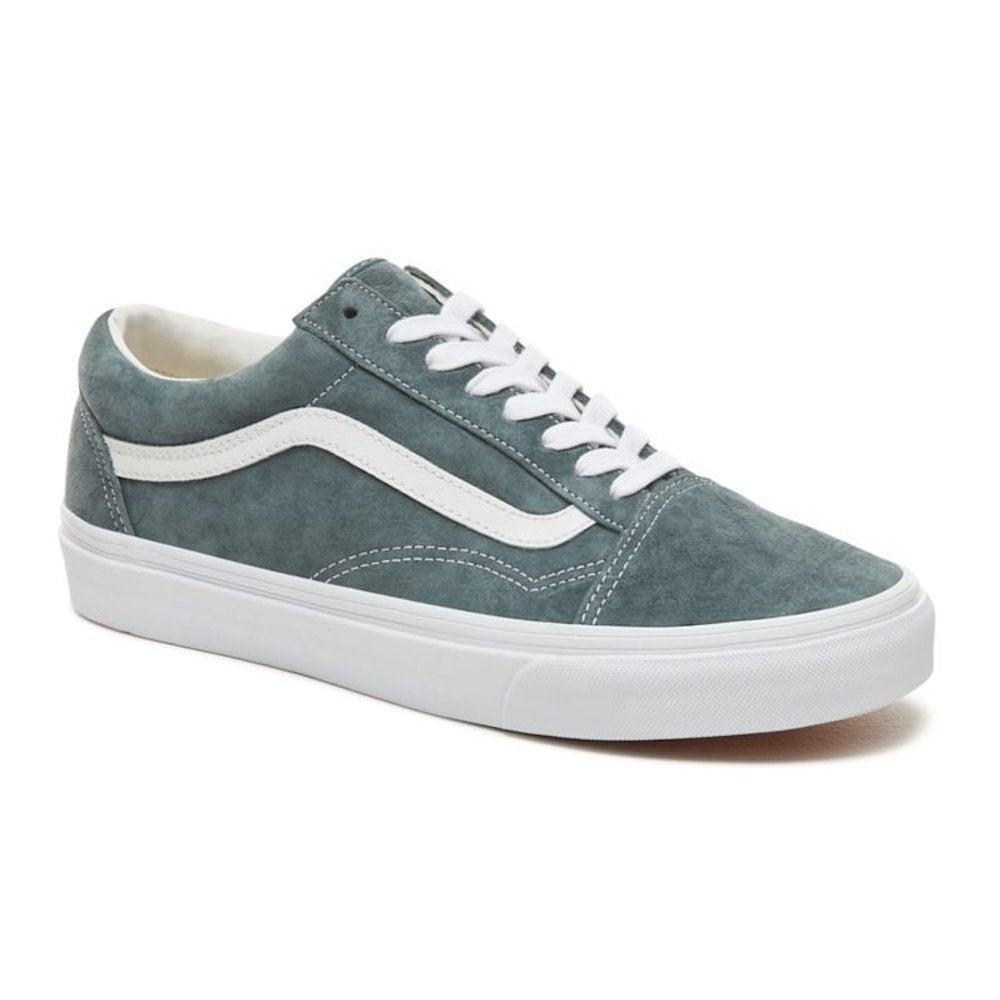 c255e78bb089 Vans Unisex Suede Old Skool Shoes - Grey   Millars Shoe Store