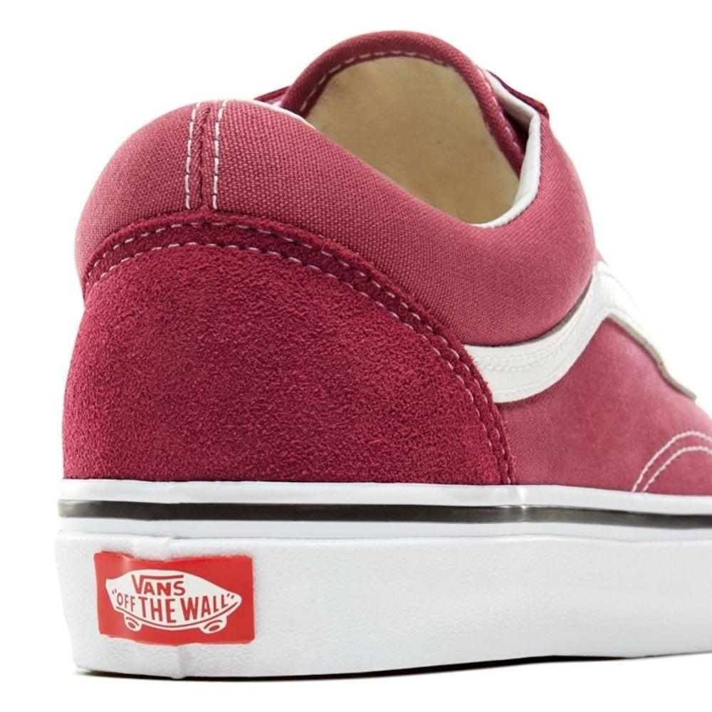 69a6fcb81d ... Vans Unisex Color Theory Old Skool Shoes - Dark Rose Burgundy ...
