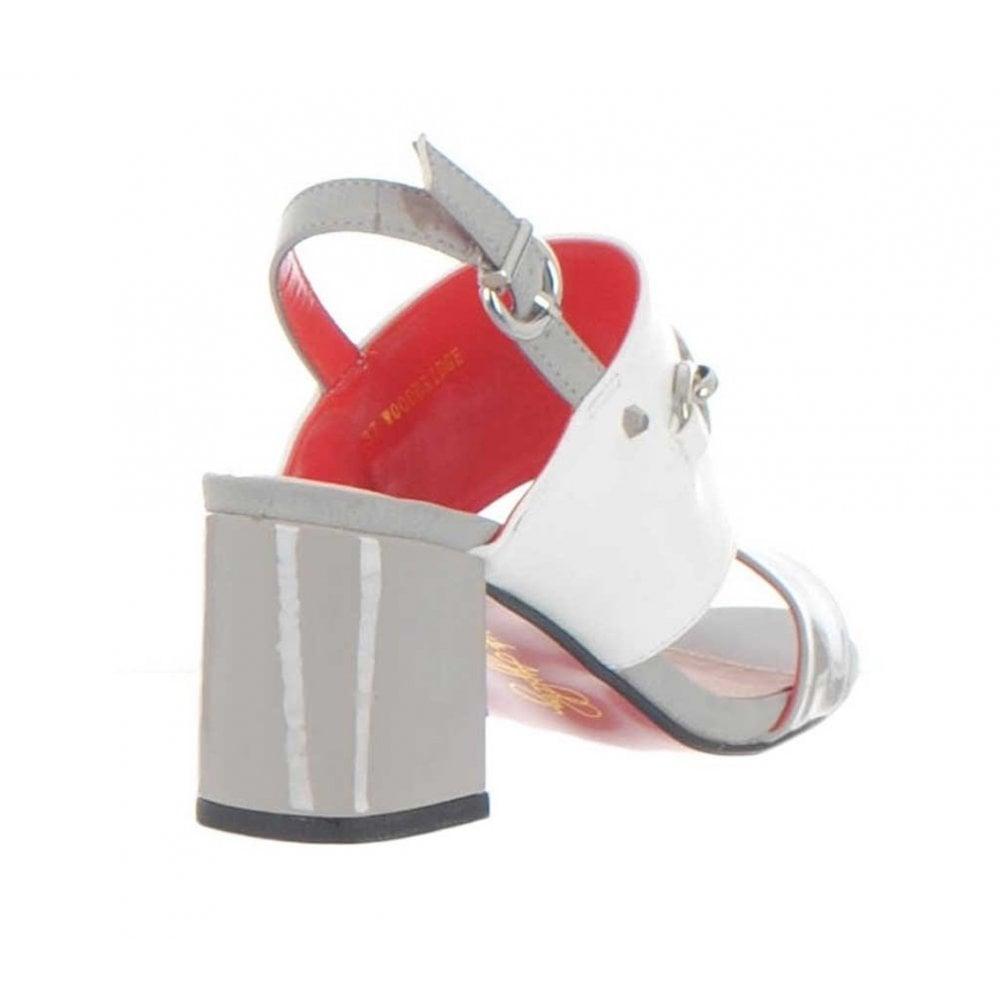 646276001561 Kate Appleby Woodbridge Slingback Heeled Sandals - Grey Snow ...