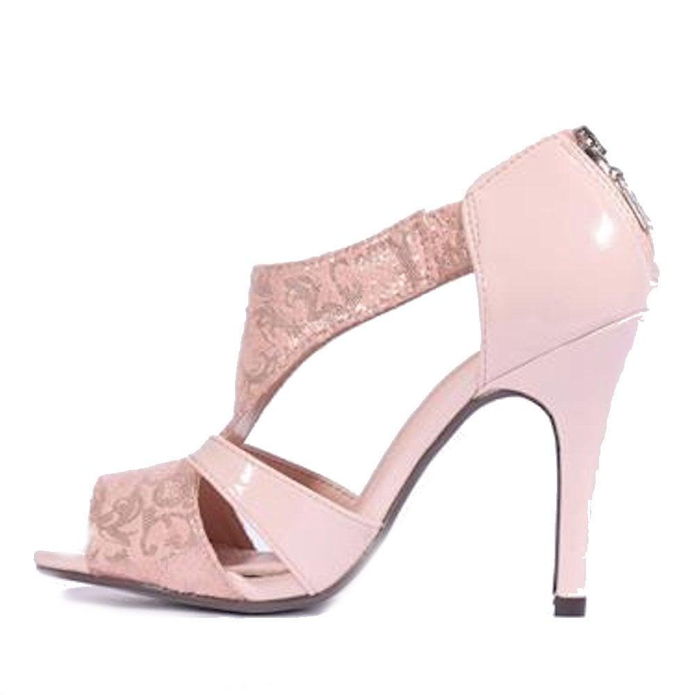 c215fdb0761f Kate Appleby Royal Lady Heeled Sandals - Blush Sparkle   Millars ...