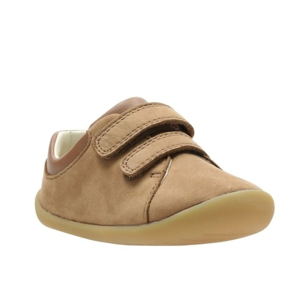 25b01dd969f46 Clarks Girls Boys Roamer Craft G Toddler Kids Suede Leather Shoes - Tan /  Millars Shoe Store