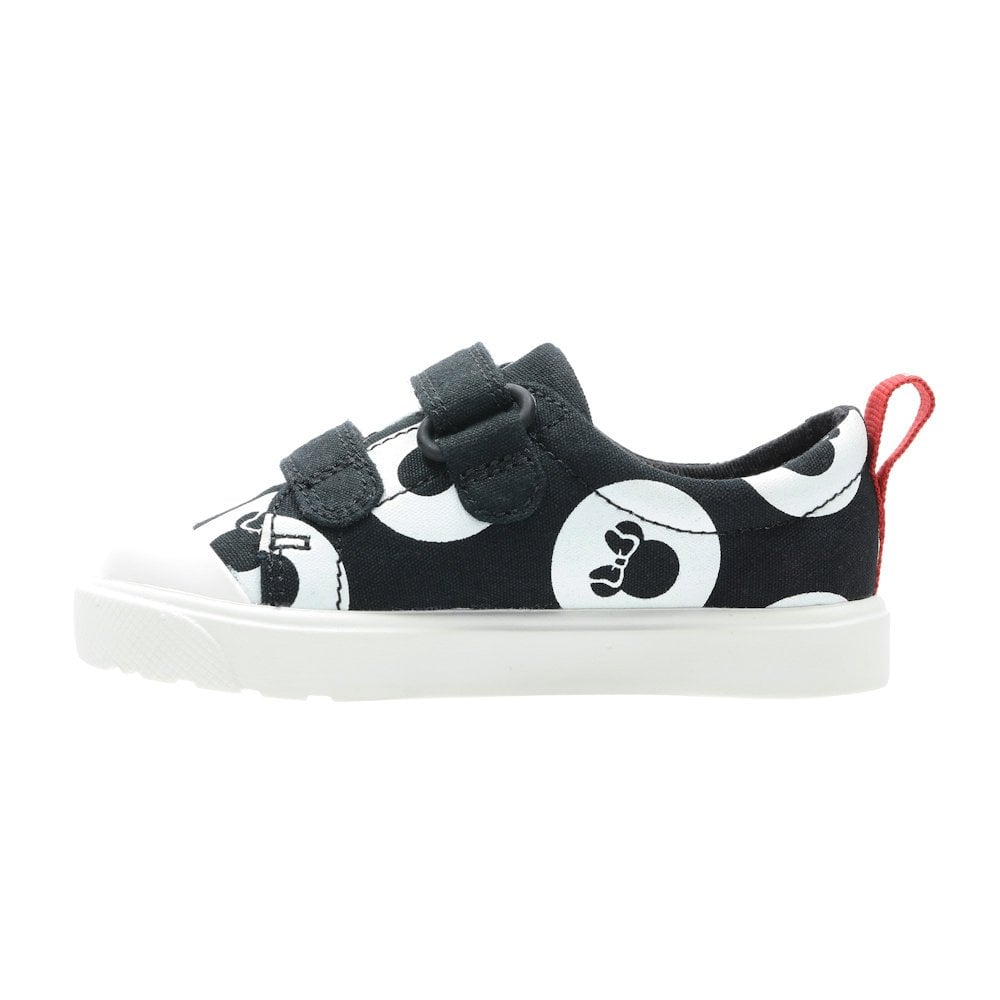 Canvas Kids Sport Shoes Black Combi