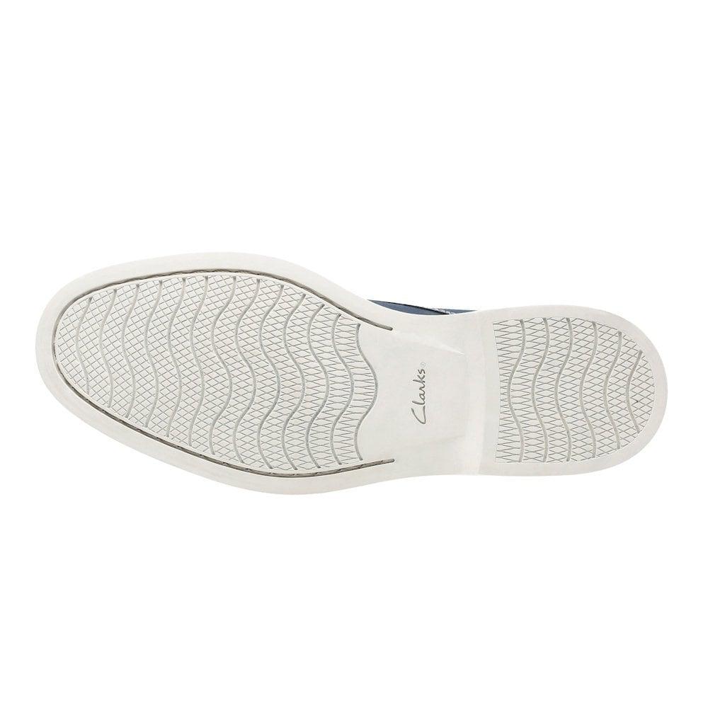 784596bc14ac Clarks Atticus Lace Mens Smart Shoes - Navy Nubuck / Millars Shoe Store