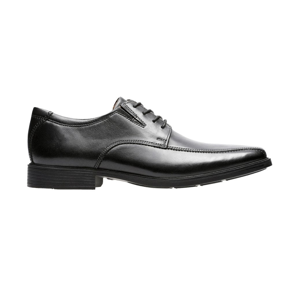 2e833cf2aa9c Clarks Tilden Walk Lace Mens Smart Shoes - Black Leather / Millars Shoe  Store