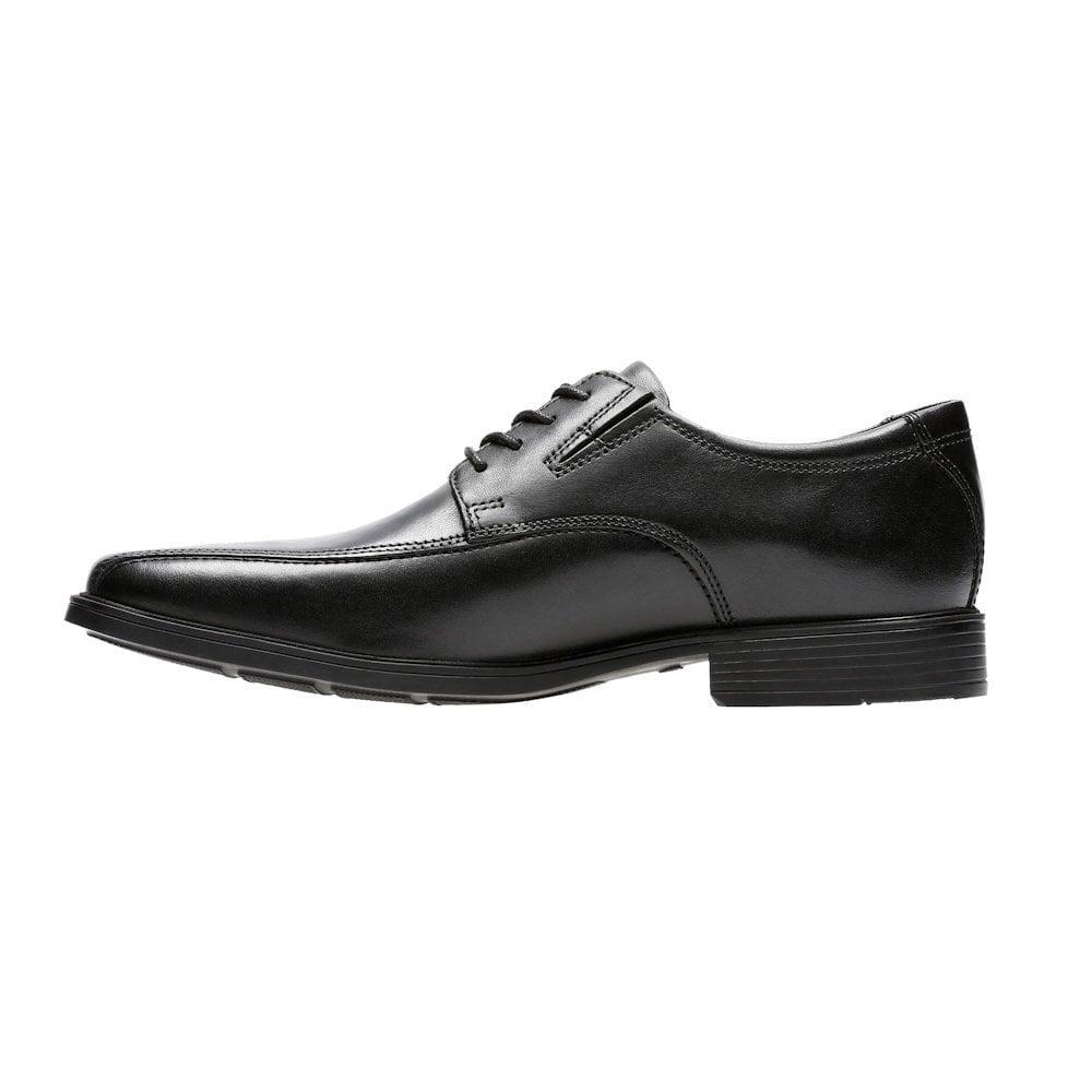 7f593d7ecfee Clarks Tilden Walk Lace Mens Smart Shoes - Black Leather / Millars ...
