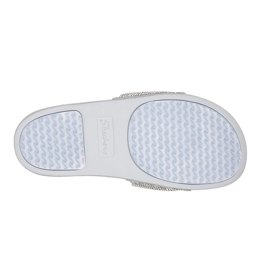1e86acab6f72 Skechers Womens Pop Ups Stone Age 32369 Slip On Flat Sandals ...