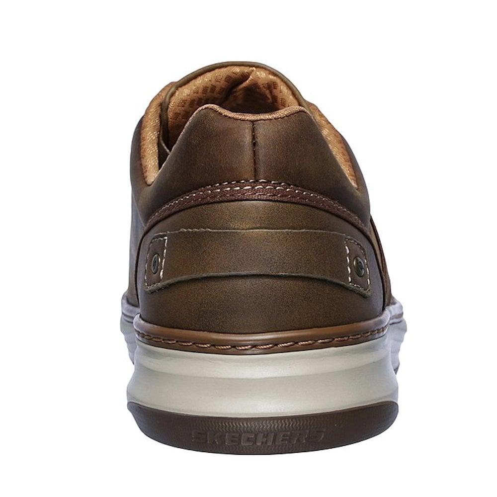 Skechers Moreno Winsor Online Sale Mens Casual Shoes Brown Hb4r7