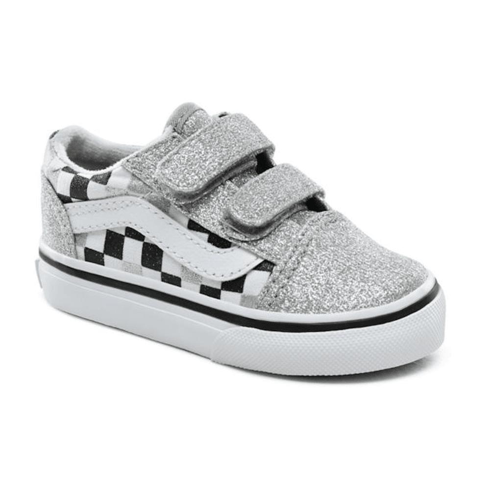 Vans Kids Toddler Glitter Checkerboard