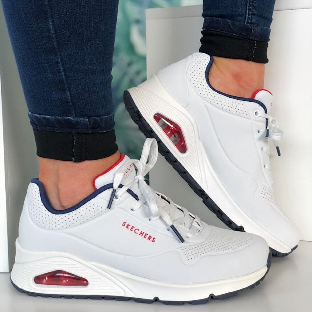 Skechers Uno - Stand On Air White