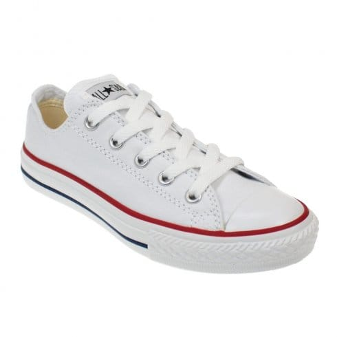 Converse Junior White All Star Lo Ox Unisex