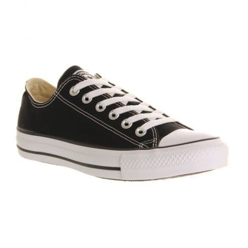 Converse Unisex Ox Black-Classic All Star Lace Up Trainer