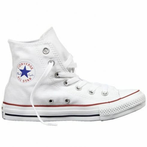 ea3ead9b6556 Buy Adult Converse M7650 Hi White Canvas All Star Chuck Taylor Boot