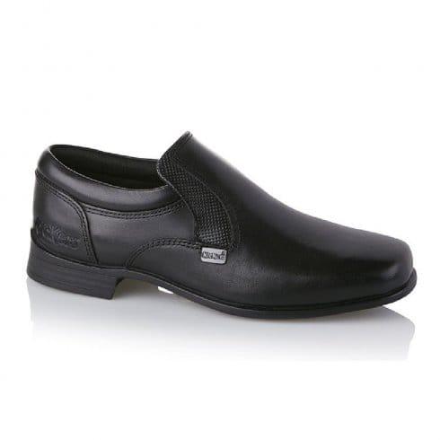 31f0c00c206a Buy Boys Kickers Shoes Ferock Slip On Black Leather