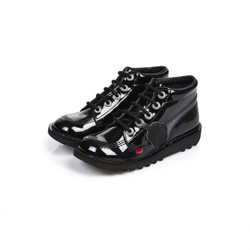 Kickers Kids Kick HI PATL JM Black