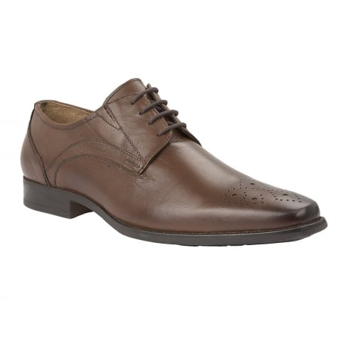 Lotus Birkdale Brown Leather Lace Up Smart Shoes - 80066