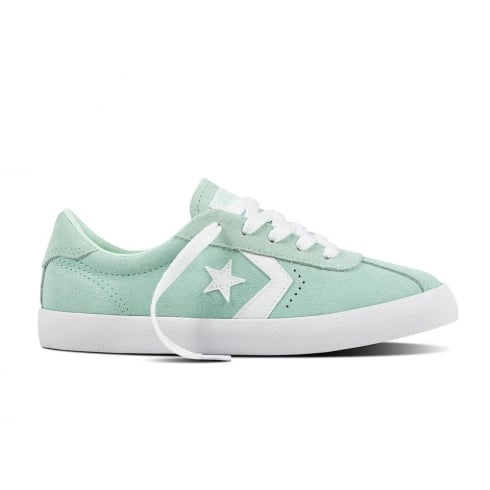 Converse Kids Breakpoint Suede Ox Mint Lace Up Sneakers