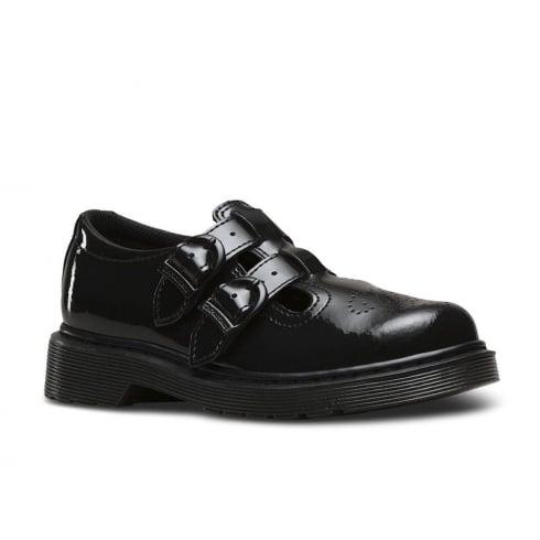 6cbcaa762e27c Dr Martens 8065 Black Patent Girls Shoe | Girls School Shoes | Dr Martens