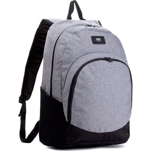 b7f06e67f2 Vans Van Doren Origina 30 liter Backpack - Grey Black - Heather Suit ...
