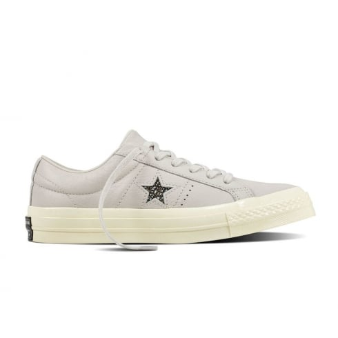 044bca48c80 Converse Women s One Star Ox Low Top Leather Trainers- Off White ...