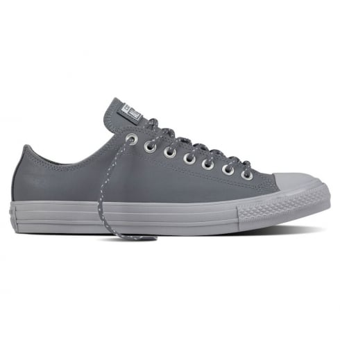 Converse Men's Chuck Taylor All Star Ox Leather Trainers - Grey