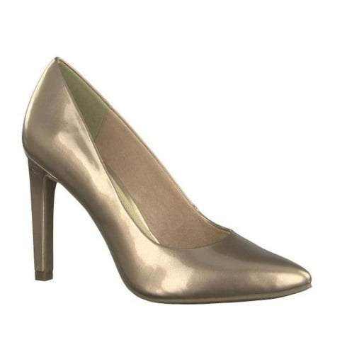 Marco Tozzi Rose Metallic Classic Pointed Courts