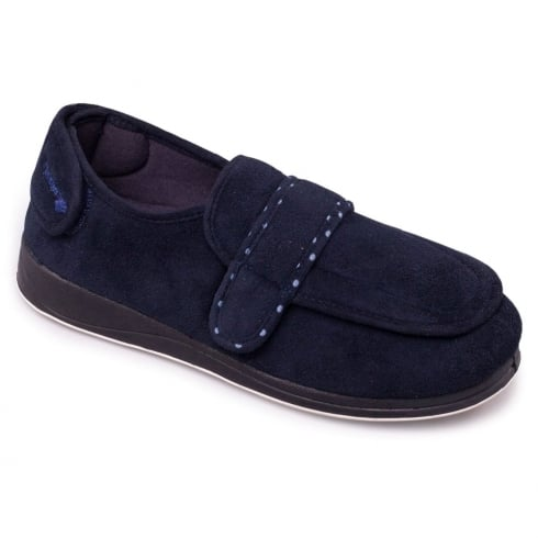 Padders Enfold Slippers - Navy