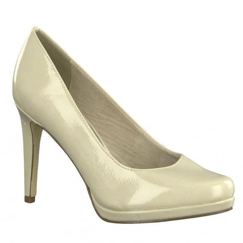Tamaris Womens Cream Stiletto High Heels