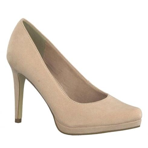 Tamaris Womens Rose Suede Stiletto High Heels