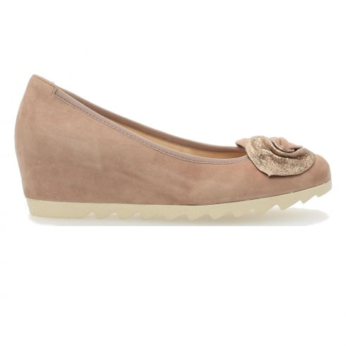 Gabor Latimer Wedge Shoes - Rose