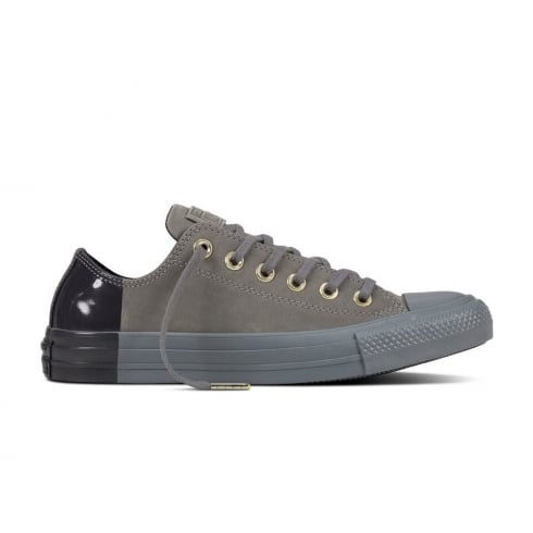 8e98541cd5f46d Converse Women s Chuck Taylor All Star Trainers - Dark Grey ...