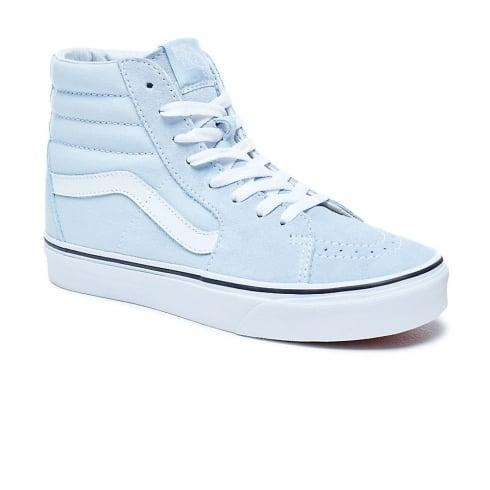 0e07b6abea Vans Womens SK8-HI Baby Blue Hi Top Suede VA38GEQ6K   Millars Shoe Store