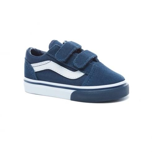 0c3052300a Vans Toddler Mono Bumper Old Skool Navy Skate Shoe VA344KQ7I ...