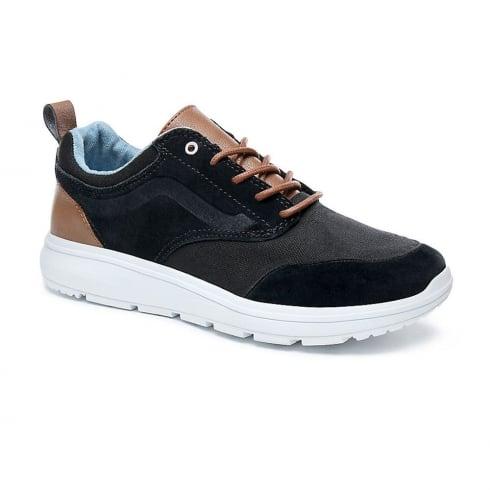 910d16d27ac508 Vans Mens Black Suede Tan Leather C L Iso 3 Shoes VA3AP1QK3 ...