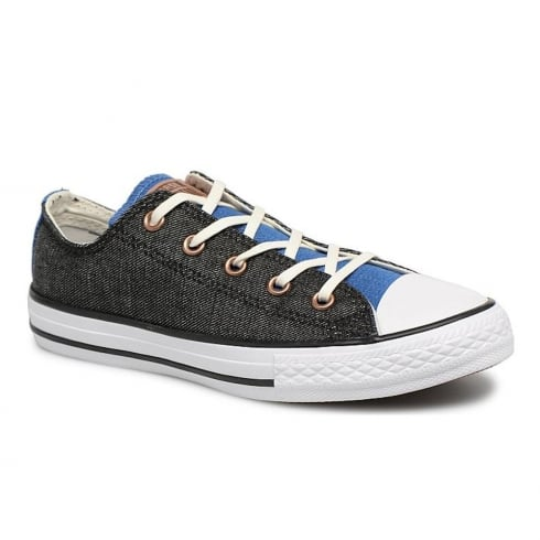 Converse Kids Chuck Taylor Two Color Chambray Trainers