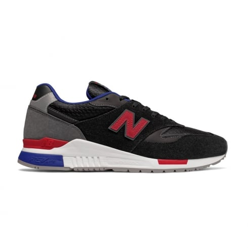 New Balance Men's Classics 840 Black Suede Trainers