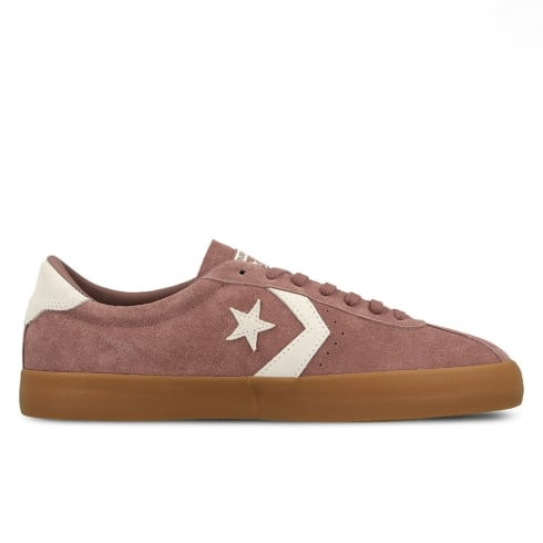 Converse Womens Breakpoint OX Suede Pink Sneakers
