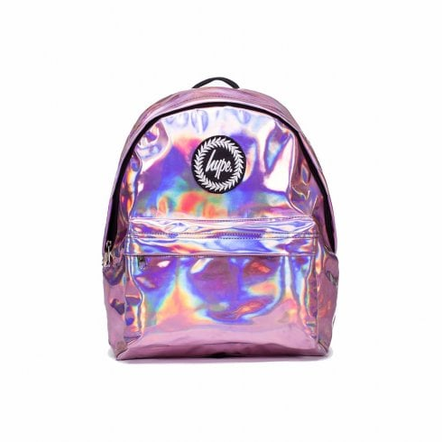 Hype Holographic Backpack - Pink