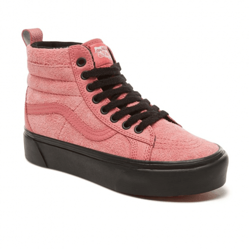 Vans Womens Suede Sk8-Hi Platform MTE Shoes - Desert Rose