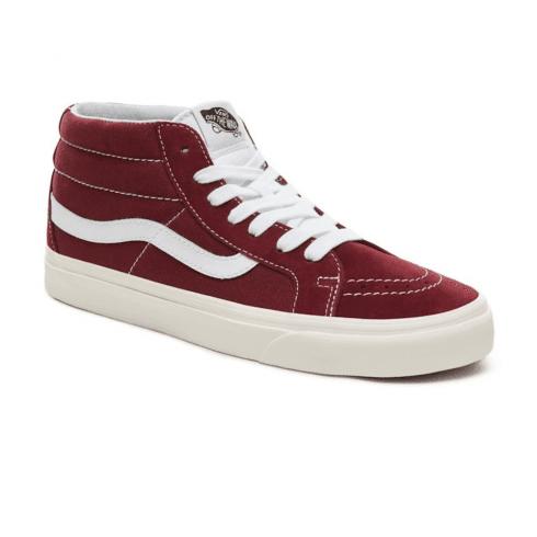 ce88344149 Vans Suede Retro Sport Sk8-Mid Reissue Shoes - Port Royale   Millars shoe  store