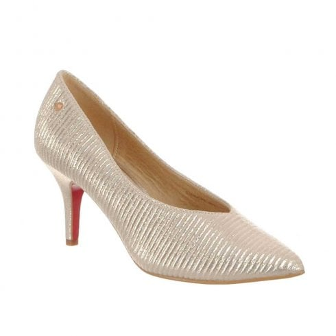 Kate Appleby Stanmore High Cut Heels - Champagne