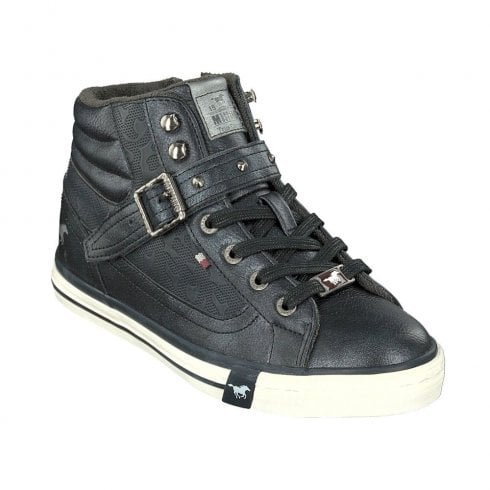 Sneakers Boots 523Www High Ankle Top 1146 Mustang Navy gIb6vY7yf